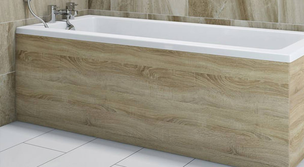 Bath Panels | Acrylic and Wooden Bath Panels on SALE at AQVA